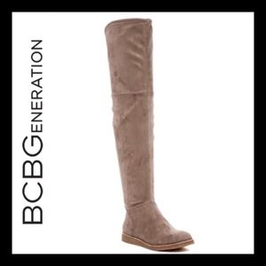 NIB BCBG GENERATION BRENNAN OVER THE KNEE BOOT 5.5